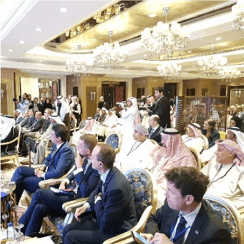 Remote Simultaneous Interpretation Case Study - Dansk Industry conference in Riyadh