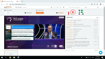 Remote Simultaneous Interpretation Case Study - World Congress of Accountants