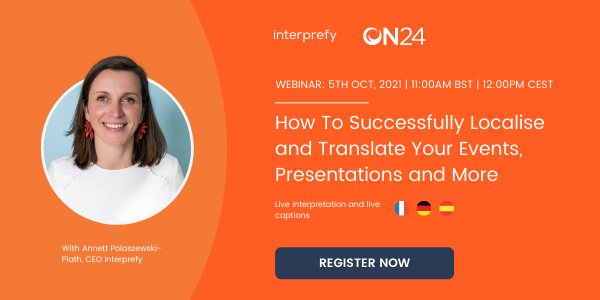 Scaling Into New Regions How To Successfully Localise and Translate Your Events, Presentations and More (1)