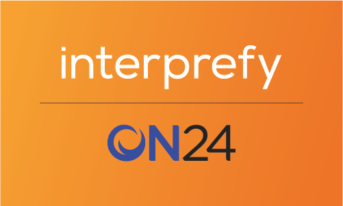 interprefy partners with ON24 to provide remote interpretation services