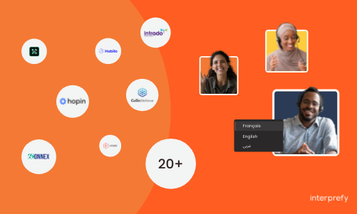 Live translations for hopin, intrado, ON24, GoToWebinar, vFairs and many more