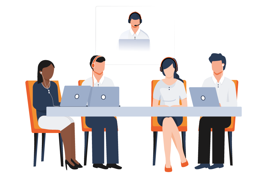 Remote Interpreting for classroom-style meetings