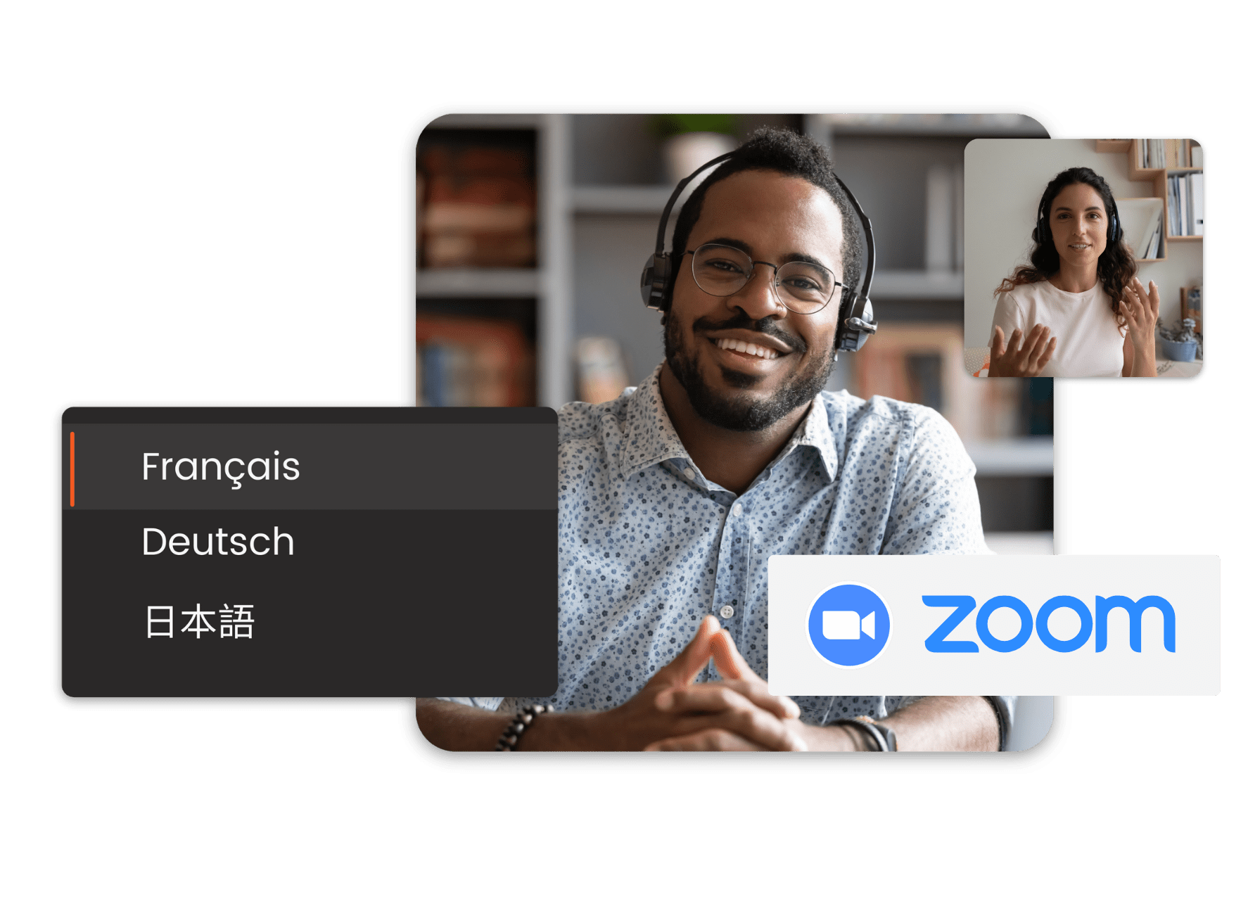 Zoom language interpretation translation