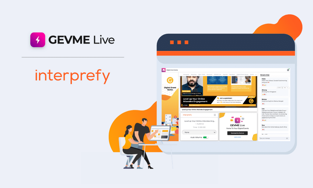 gevme interprefy partnership